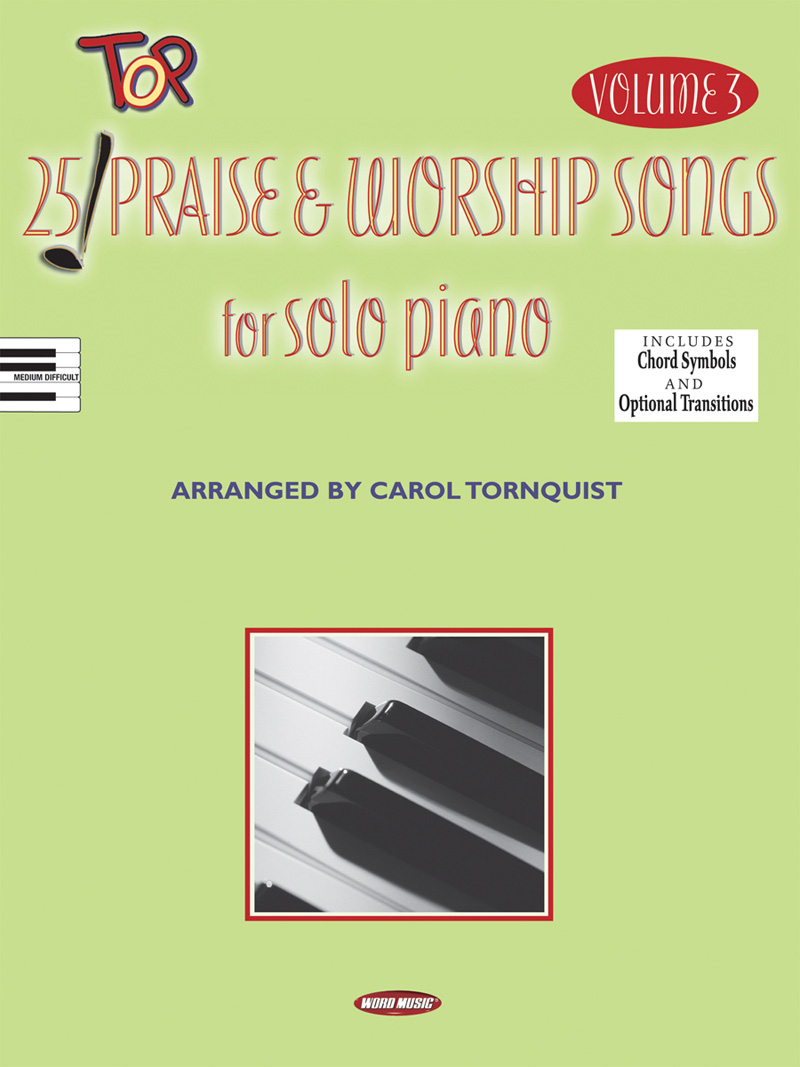 25 Top P&W Songs For Solo Piano V3