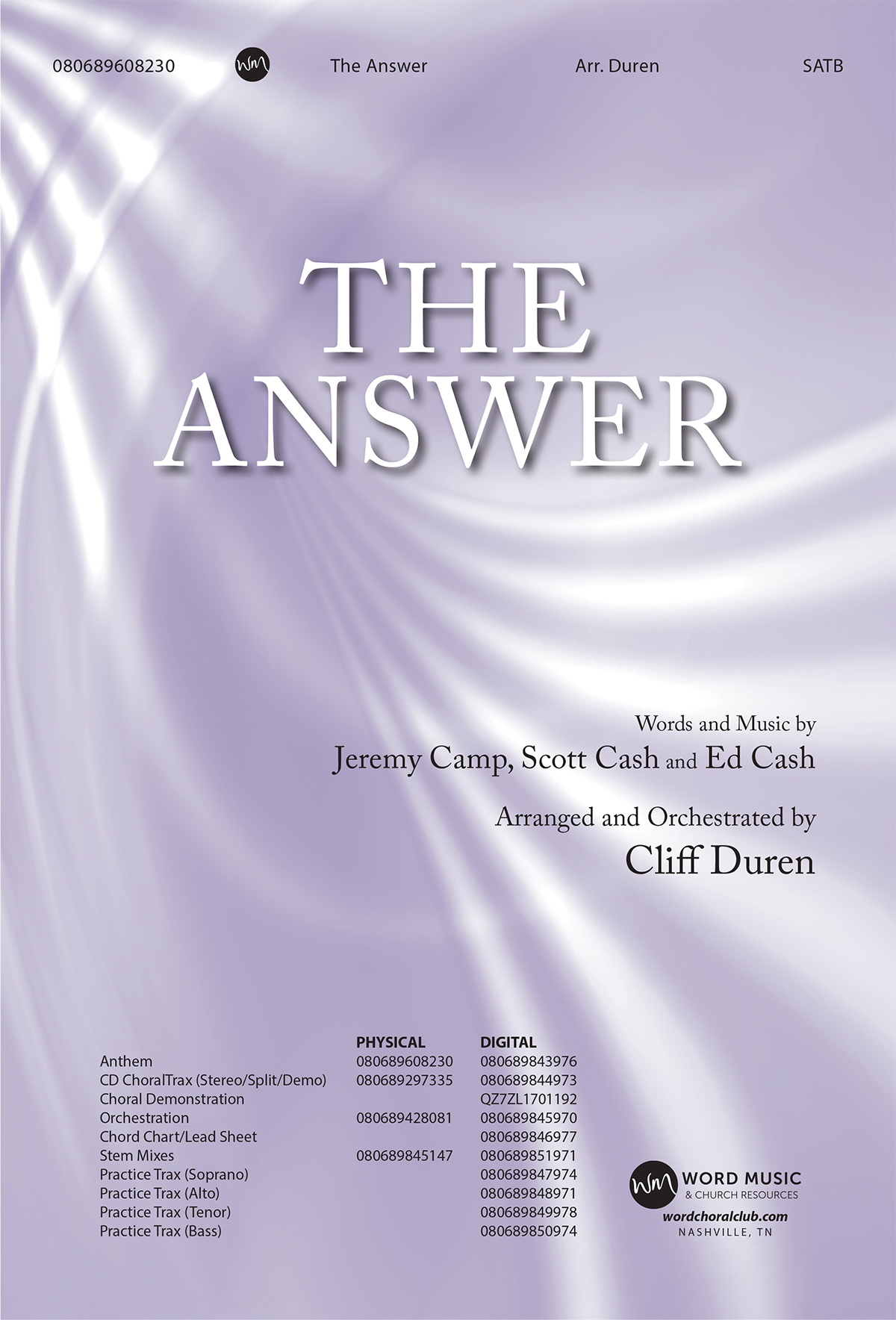 The Answer - STM [Duren, Cliff]