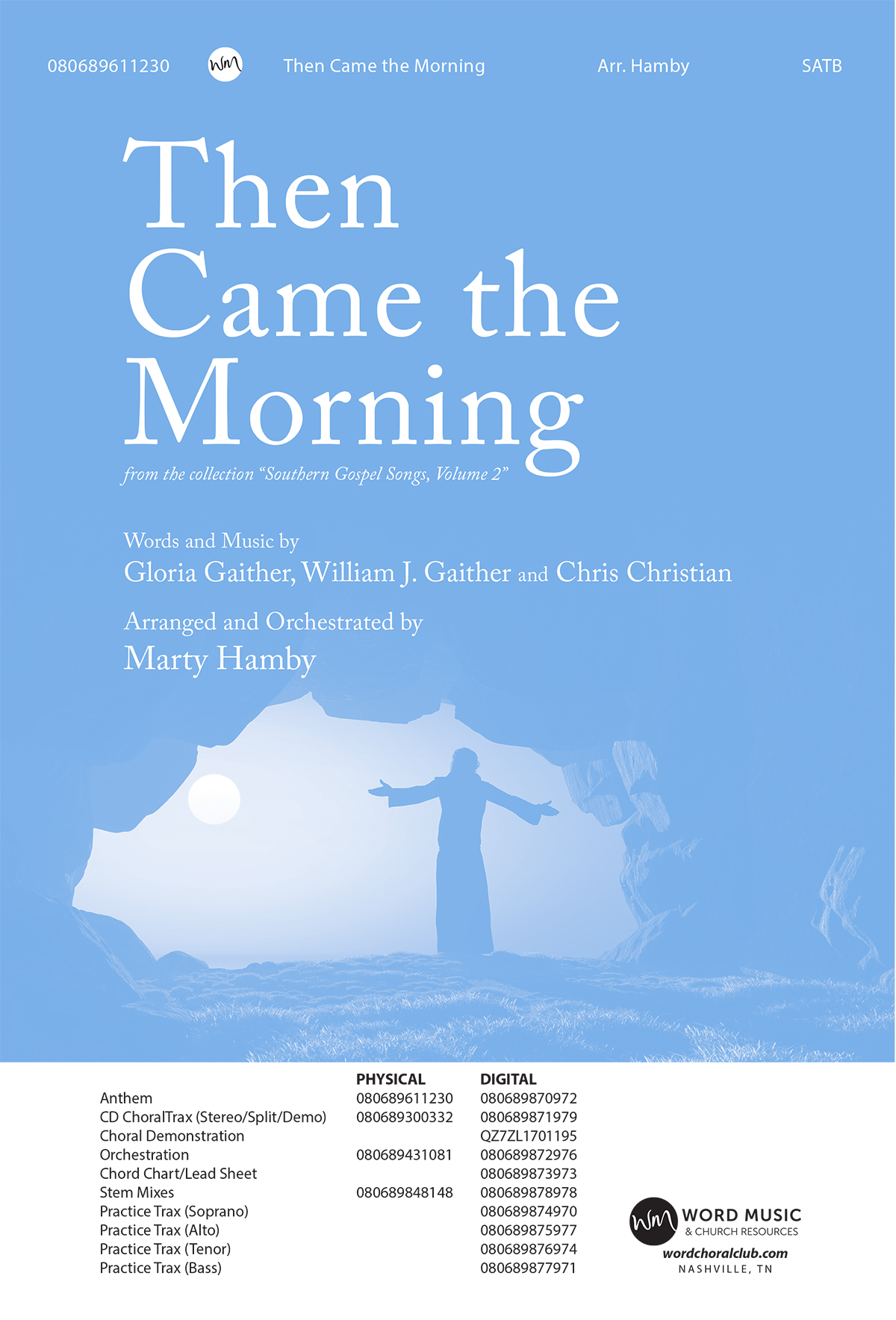 Then Came the Morning - Tenor (Downloadable Practice Trax)