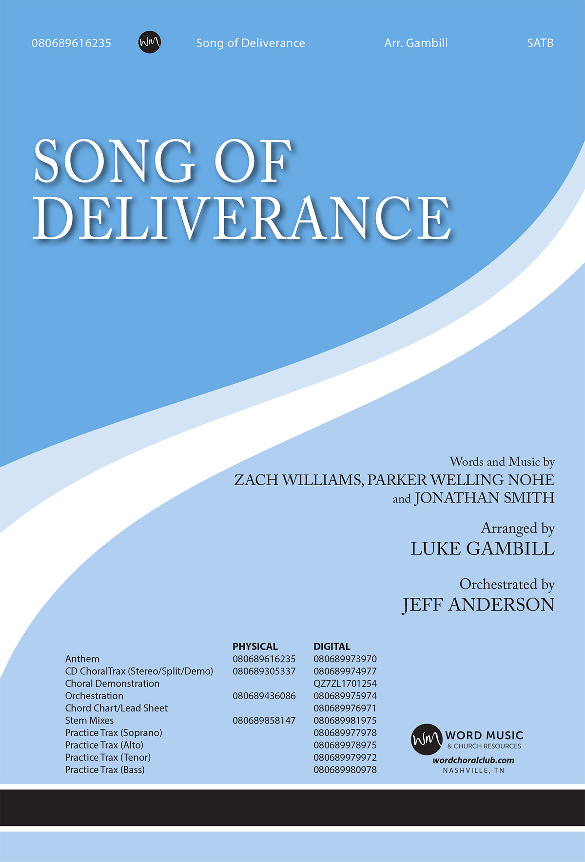 Song of Deliverance - Alto (Downloadable Practice Trax)